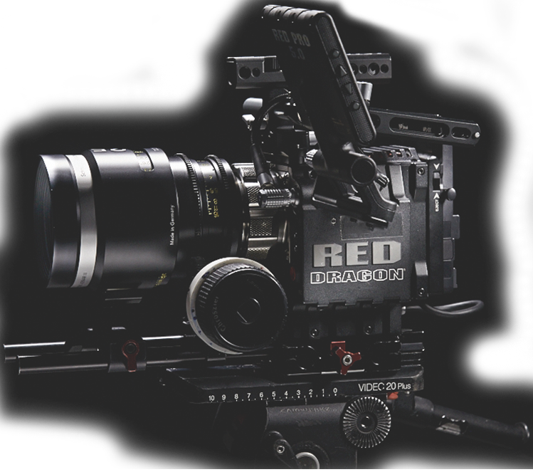 Production house in Taipei, Taiwan. 6k film professional camera RED EPIC DRAGON 6k